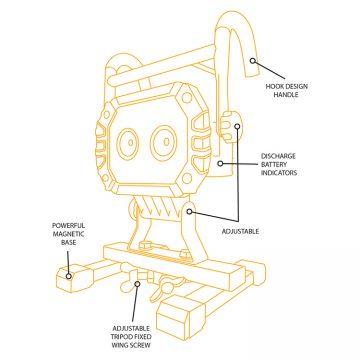 JCB FL20 FL20S diagram
