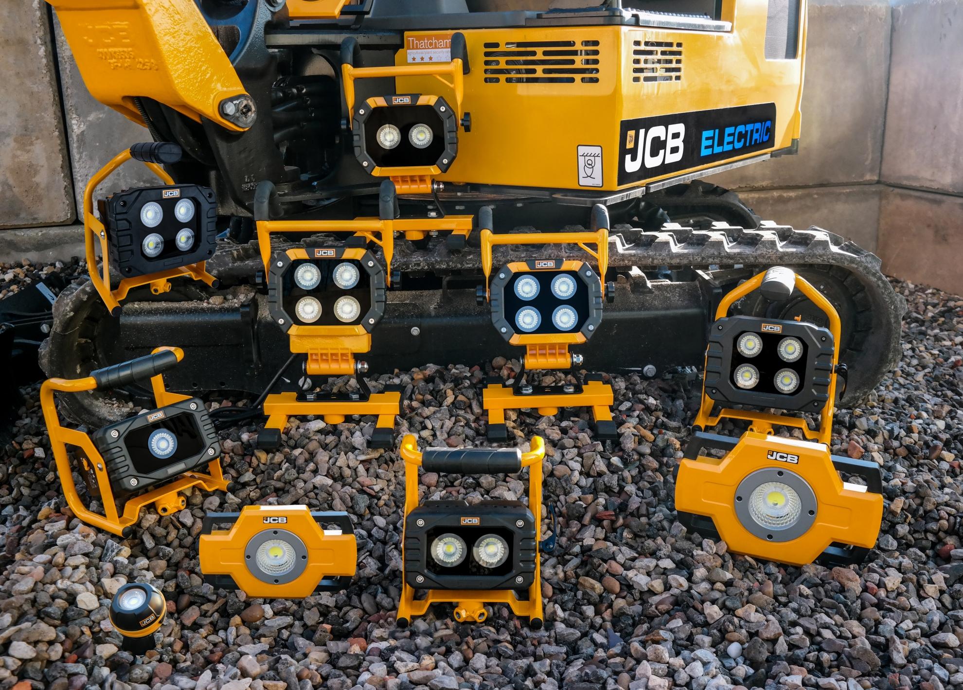 JCB Work Light Group Shot